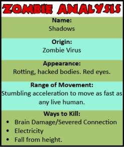 Zombie Analysis
