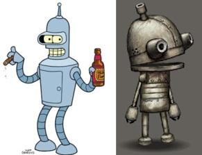 Looks like Bender got his wish.