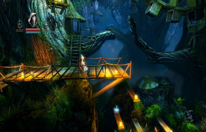 A treetop village with magic potions, rolling hears and a touch of magic? Can this get any more fantasy?